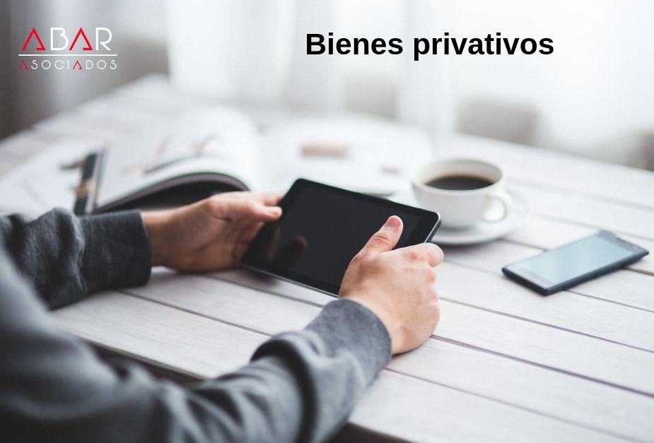 bienes privativos